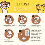 Hana Pet Waterless Bubble Shampoo - Lavender Scent - JoonaCare.Shop