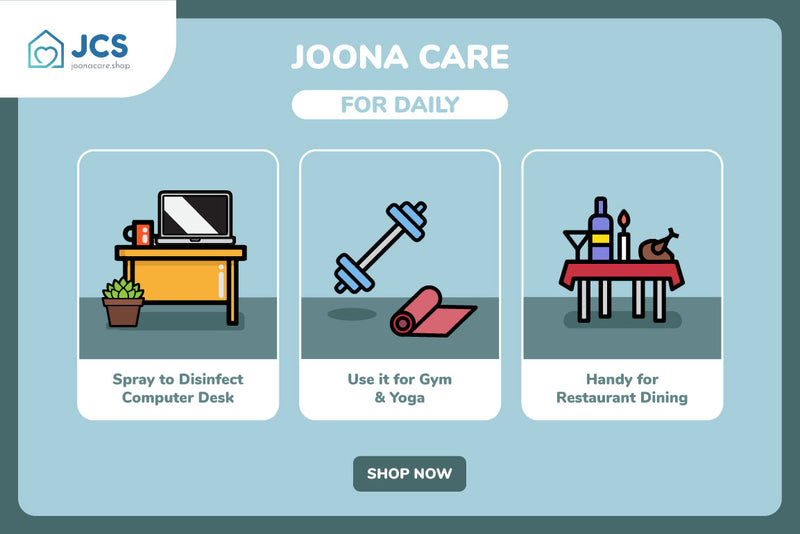 Joona Fresh Spray - COMBO 5 - JoonaCare.Shop