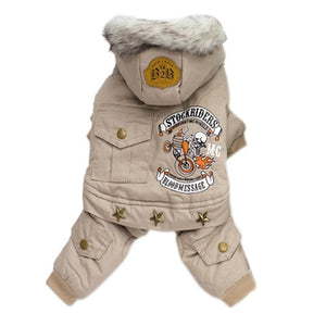 Stockriders Motorcycle Jacket - Warm & soft your pup will love it