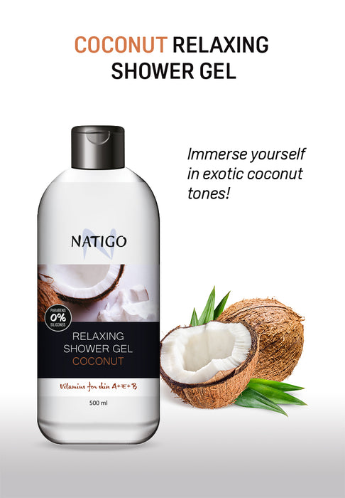 【Wai Kit Cosmetics】NATIGO Shower Gel Series 500ml