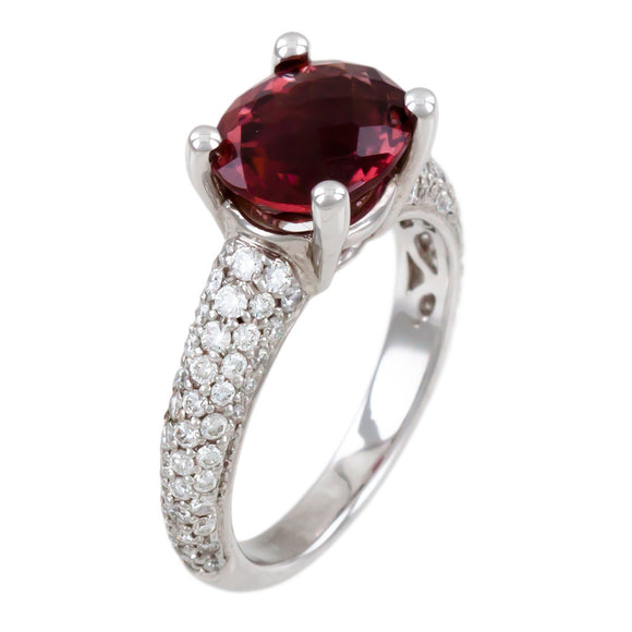 <b>TOURMALINE & DIAMOND RING</b><br>by G.S. DESIGN - PERSONA JEWELRY