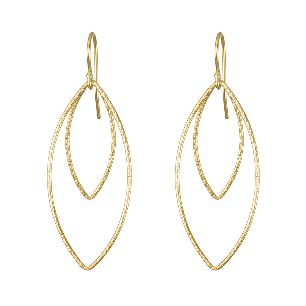 <b>DOUBLE DROP EARRINGS</b><br>by G.S. DESIGN