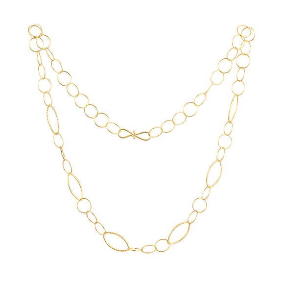 <b>OPEN LINK CHAIN</b><br>by G.S. DESIGN - PERSONA JEWELRY