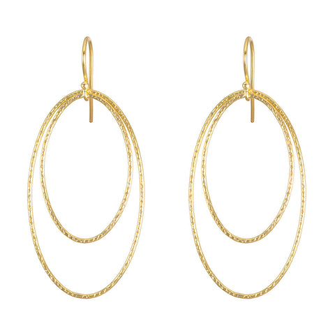 <b>DOUBLE CIRCLE EARRINGS</b><br>by G.S. DESIGN - PERSONA JEWELRY