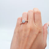 CUSTOMIZABLE 4-PRONG SOLITAIRE ENGAGEMENT RING