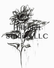 Load image into Gallery viewer, Sunflower Digital Print
