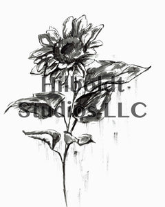 Sunflower Digital Print