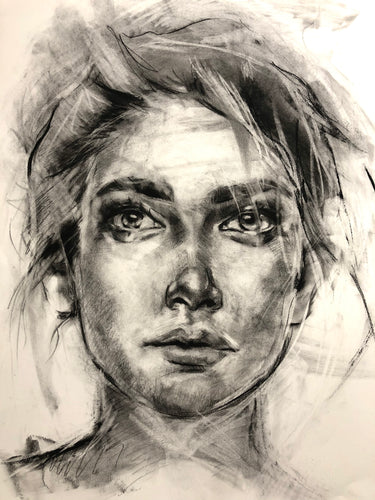 Original Charcoal Portrait