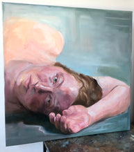 Load image into Gallery viewer, Laying Figure, Original Oil Painting