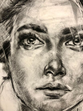 Load image into Gallery viewer, Original Charcoal Portrait