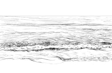 Load image into Gallery viewer, Seascape Sketch I