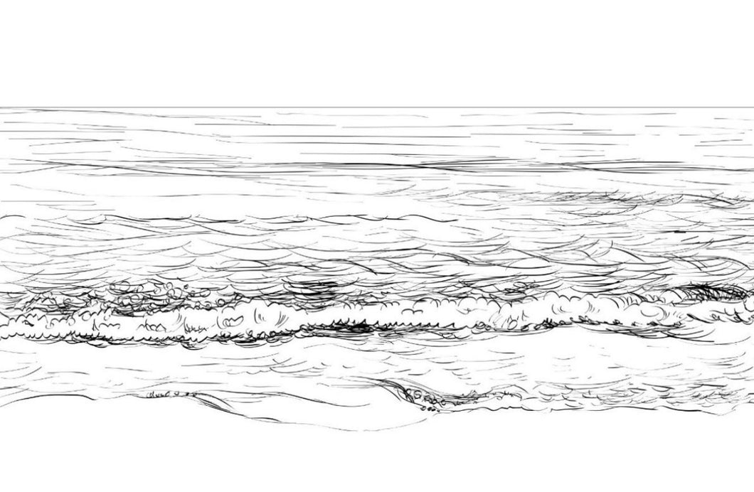 Seascape Sketch I