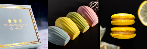 Order Online Macarons, Madeleines, and more