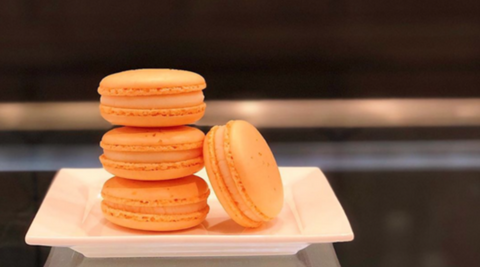 Large Order of French Macarons for Corporate Gifts