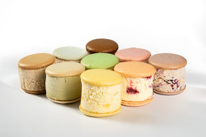 Signature Macaron Ice Cream Sandwiches