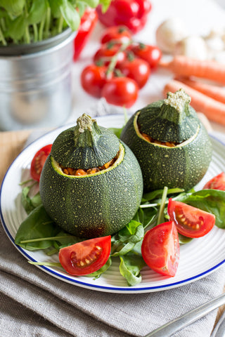 Stuffed Courgette & Zucchini. Healthy Recipe!