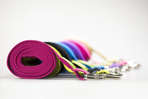 Cotton D Ring Yoga Belts