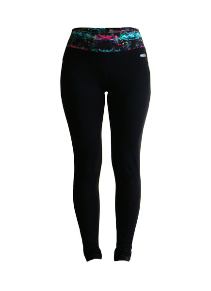 Go Vinyasa Leggings - Fire