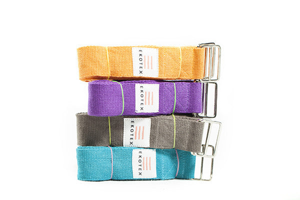 Long Cotton Yoga Belt - 2.4m