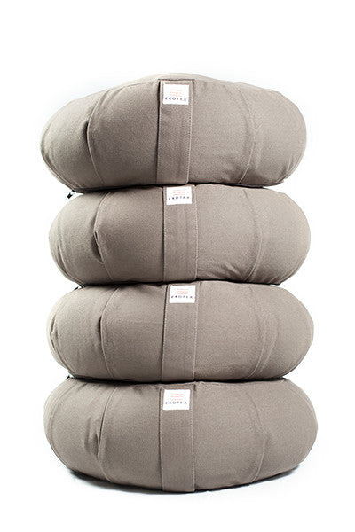Organic Meditation Cushions - 4 Pack