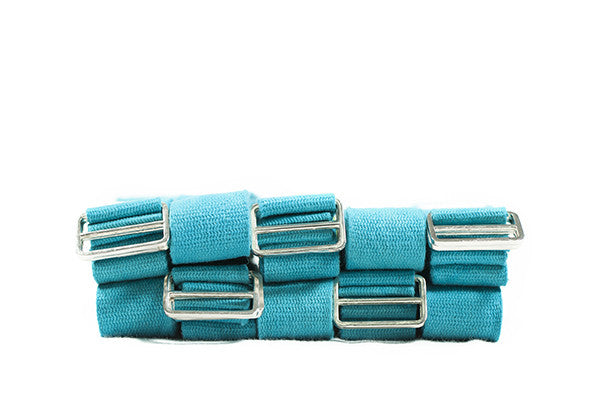 Extra Long Cotton Yoga Belt - 10 Pack