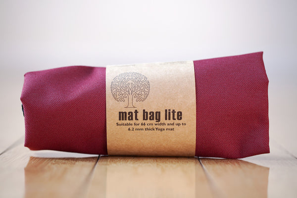 Yoga Mat Bag - Burgundy