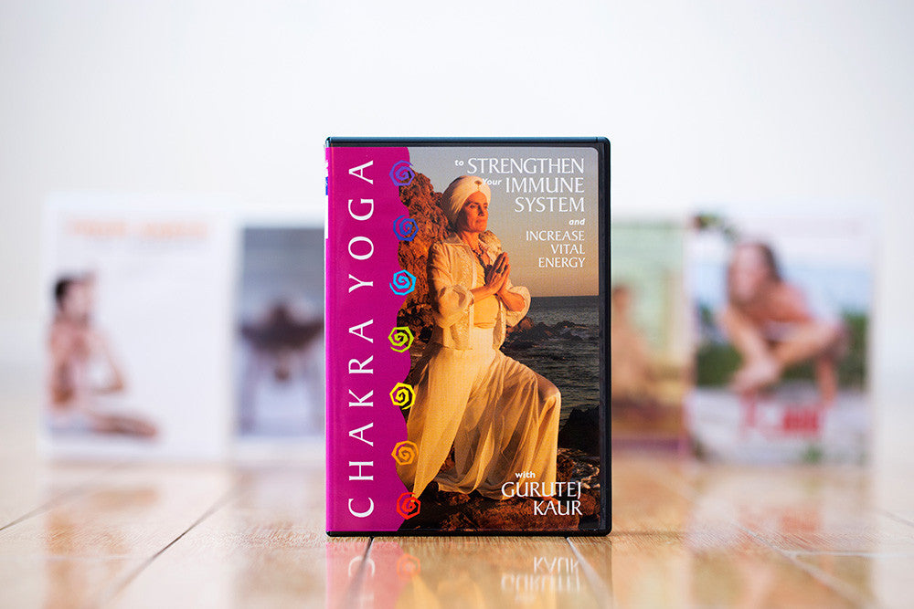 Chakra Yoga to Strengthen Your Immune System DVD