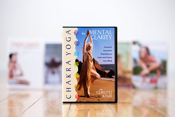 Chakra Yoga for Mental Clarity DVD