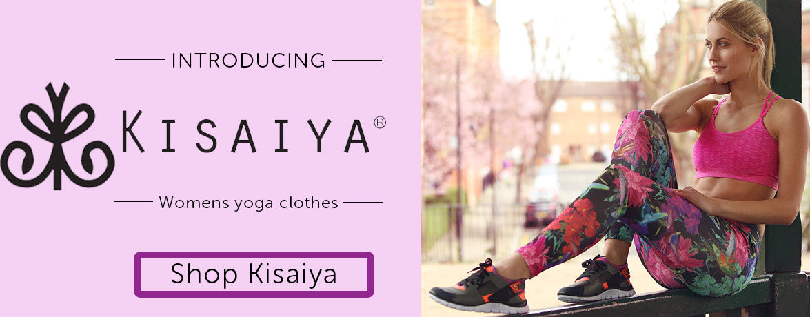 New Yoga Clothes for Women by Kisaiya