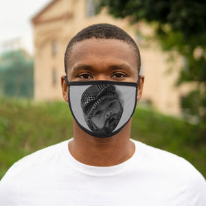 Ancient Baby Logo Mask (Grey)