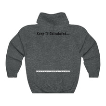 "Load image into Gallery viewer, Melanated Mathematics ""Bookmark"" Hoodie (adult, unisex)"