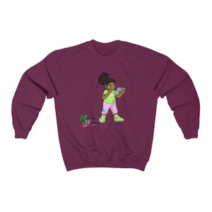 "Melanated Mathematics ""Studious"" Sweatshirt (adult, unisex)"
