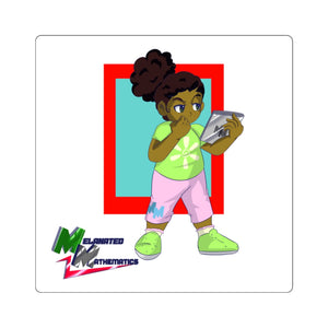 "Melanated Mathematics ""Studious"" Sticker"