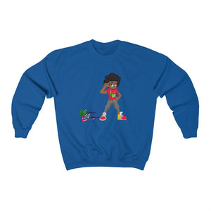 "Melanated Mathematics ""Thinking"" Sweatshirt (adult, unisex)"