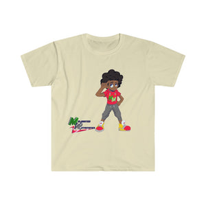 "Melanated Mathematics ""Thinking"" Tee (adult, unisex)"