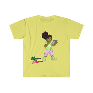 "Melanated Mathematics ""Studious"" Tee (adult, unisex)"