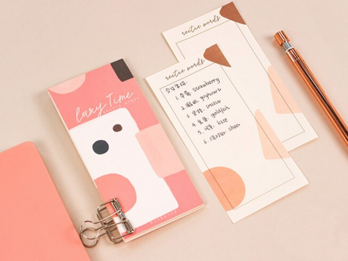 Mini Notepad - Pink