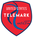 US Telemark Ski Team Logo Red