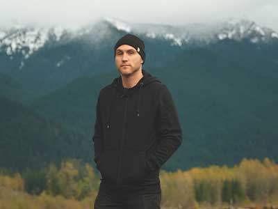 Alex Wearing Kodiak Expedition Wool Hoody