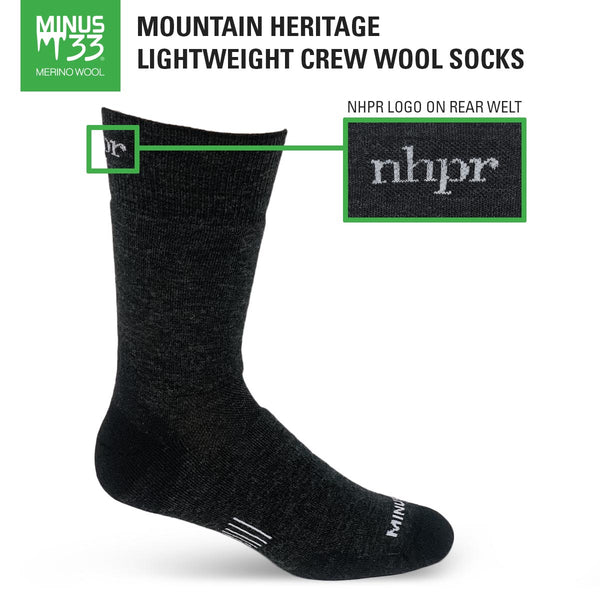 NHPR Merino Wool Socks made by Minus33