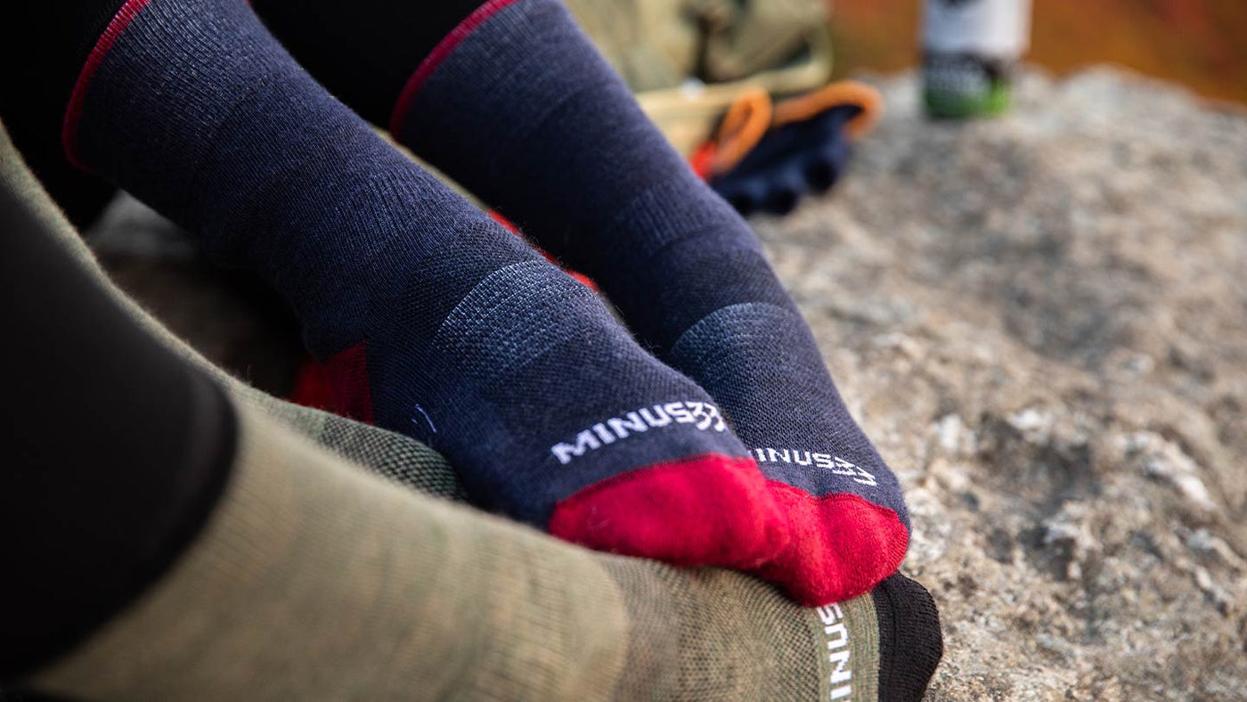 Mountain Heritage Merino Wool Socks Made in New Hampshire USA