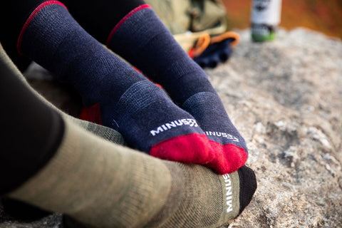 Mountain Heritage Socks - Patriot & Olive Drab