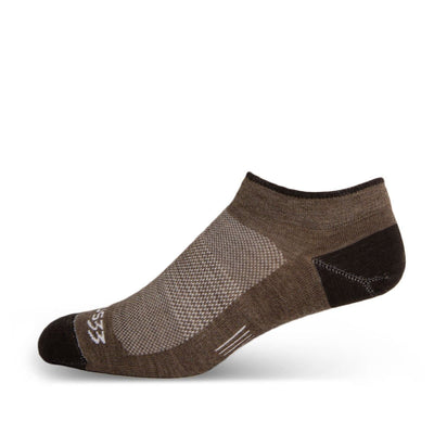 Mountain Heritage Micro Weight No Show Liner Socks Coffee