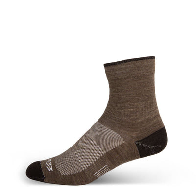 Mountain Heritage Micro Weight Mini Crew Liner Socks Coffee