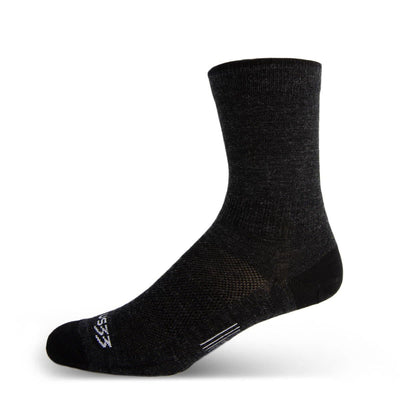 Mountain Heritage Micro Weight Crew Liner Socks Black