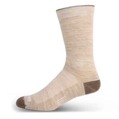 "Mountain Heritage Micro Weight Boot 10"" Liner Socks Oatmeal"