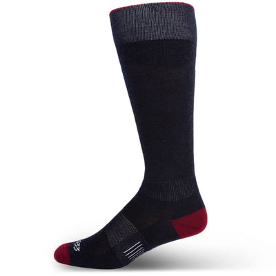 Mountain Heritage Micro Weight Full Length Liner Socks Patriot