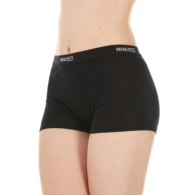 Minus33 Merino Wool Clothing Woolverino Women's Micro Weight Boyshort