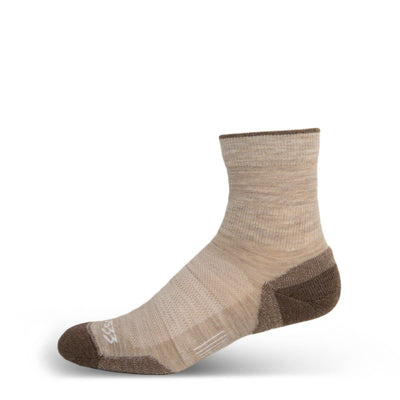 Mountain Heritage Micro Weight Light Cushion Mini Crew Socks Oatmeal