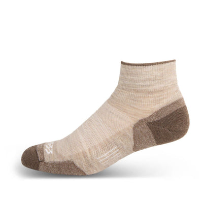 Mountain Heritage Micro Weight Full Cushion Ankle Socks Oatmeal
